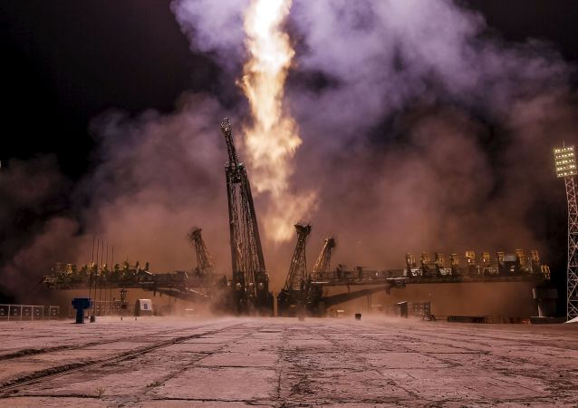 Lancio di Soyuz ТМА-17М.