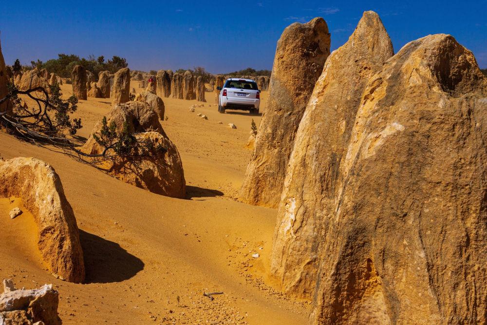Il deserto dei Pinnacoli in Australia.