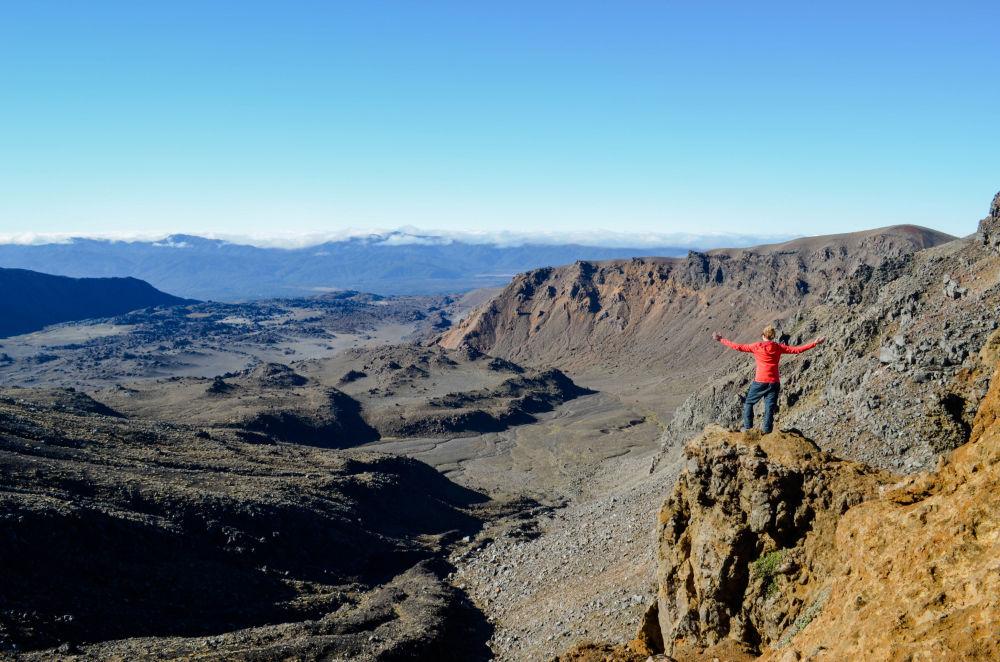 Il Parco nazionale del Tongariro in Nuova Zelanda.