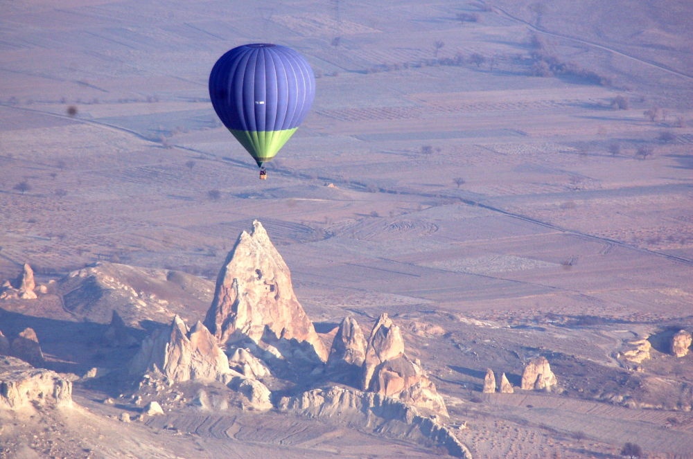 La Cappadocia, la regione storica dell'Asia, situata in Turchia.