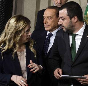 Matteo Salvini e Giorgia Meloni
