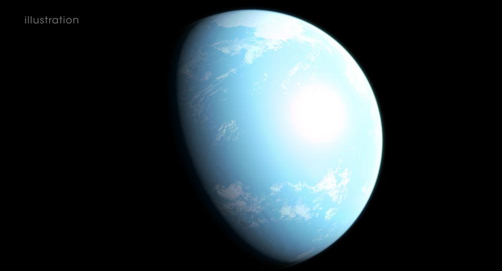 Raffigurazione artistica del pianeta GJ357d