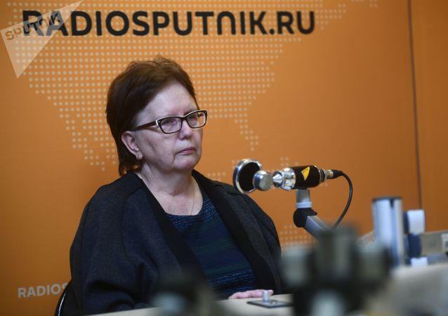 Vera Stenina, la madre di Andrey Stenin