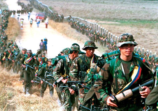 I guerriglieri di FARC (archivio)