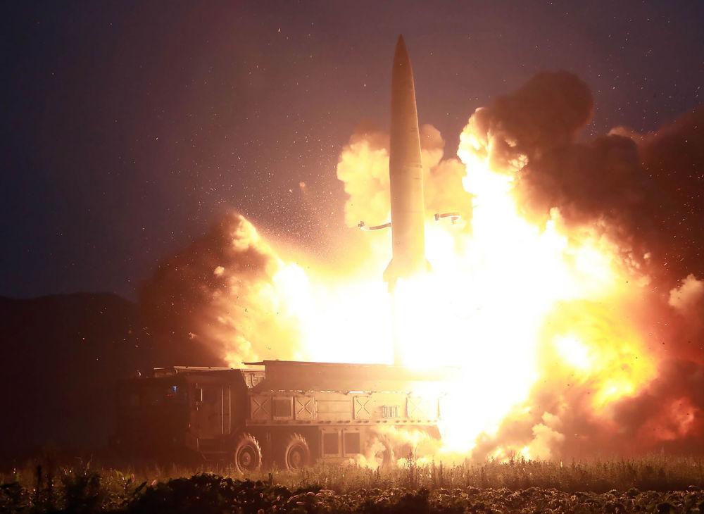 Il lancio di un nuovo missile balistico nordcoreano