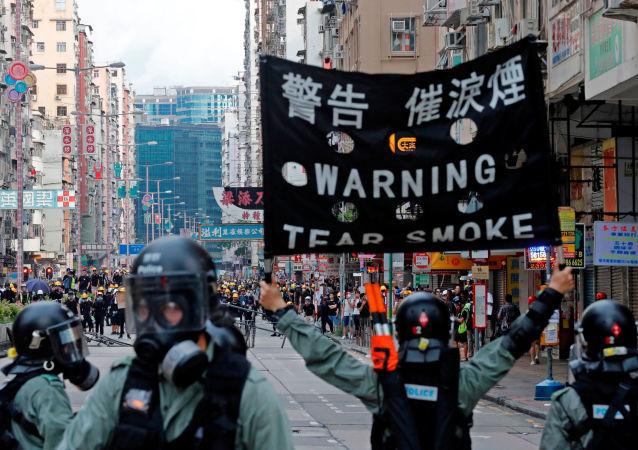 Le proteste a Hong Kong