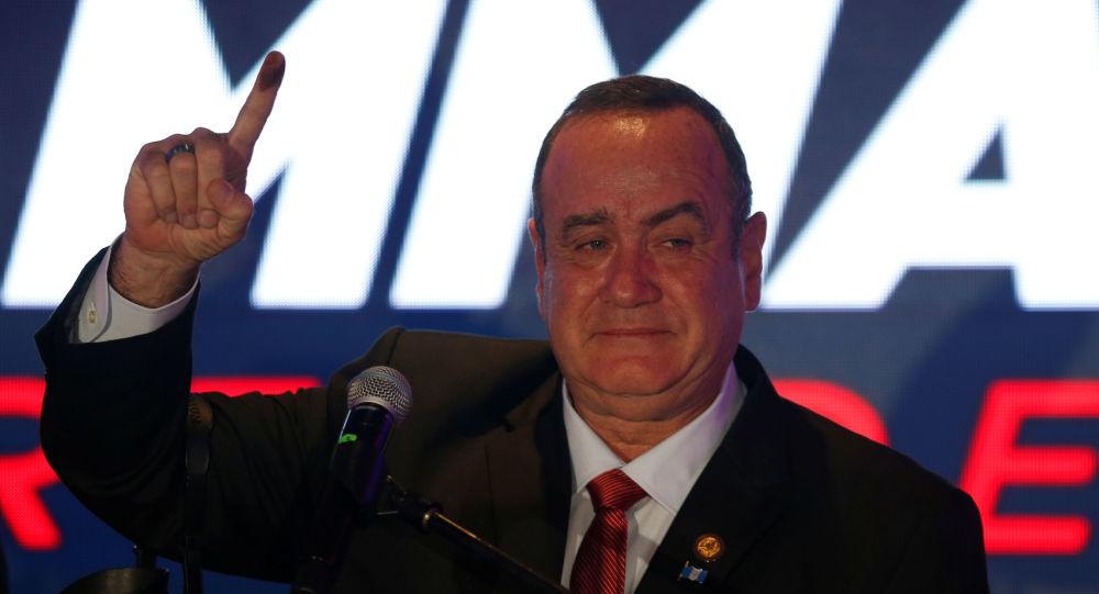 Alejandro Giammattei, il presidente di Guatemala
