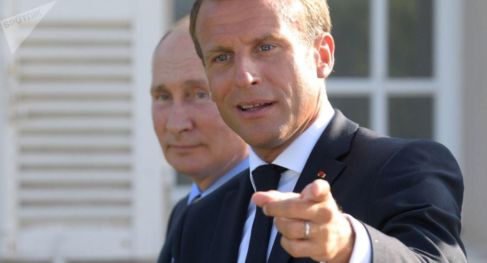 Trump e Macron,invitare Russia a G7 2020