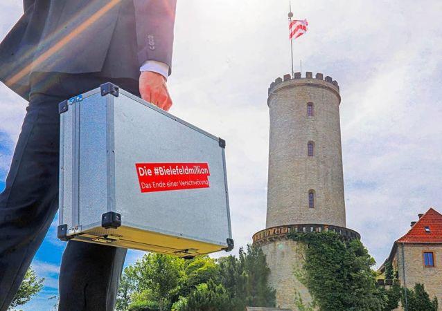 Il castello Sparrenburg, Bielefeld.