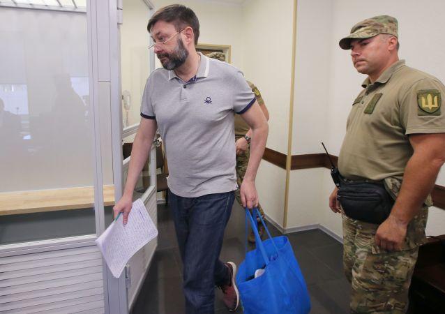Il tribunale ucraino ha liberato il giornalista russo Kirill Vyshinsky