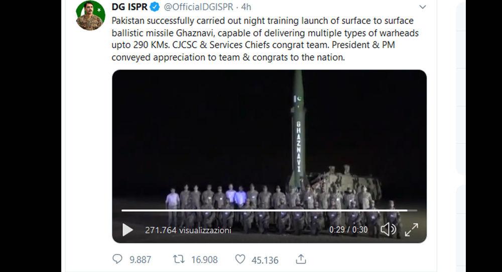 Missile Ghaznavi - Pakistan