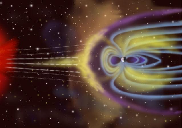 Interazione particelle solari - magnetosfera
