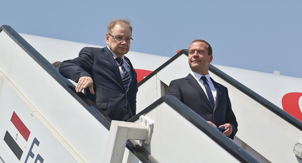 Ambasciatore Kirpichenko e Primo Ministro Medviedev