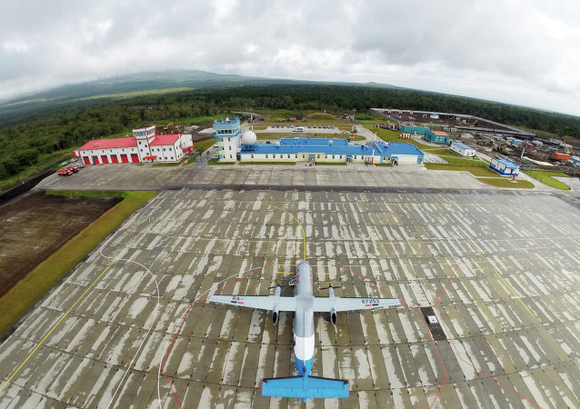 A new airport on Iturup Island of the South Kuril Islands