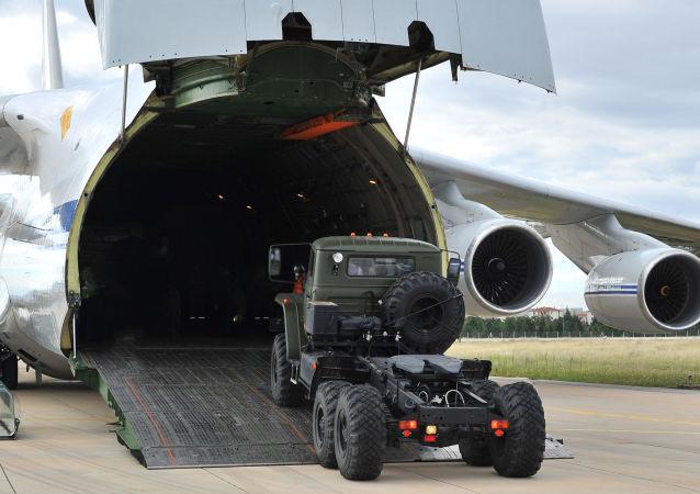 La consegna di un S-400 alla Turchia