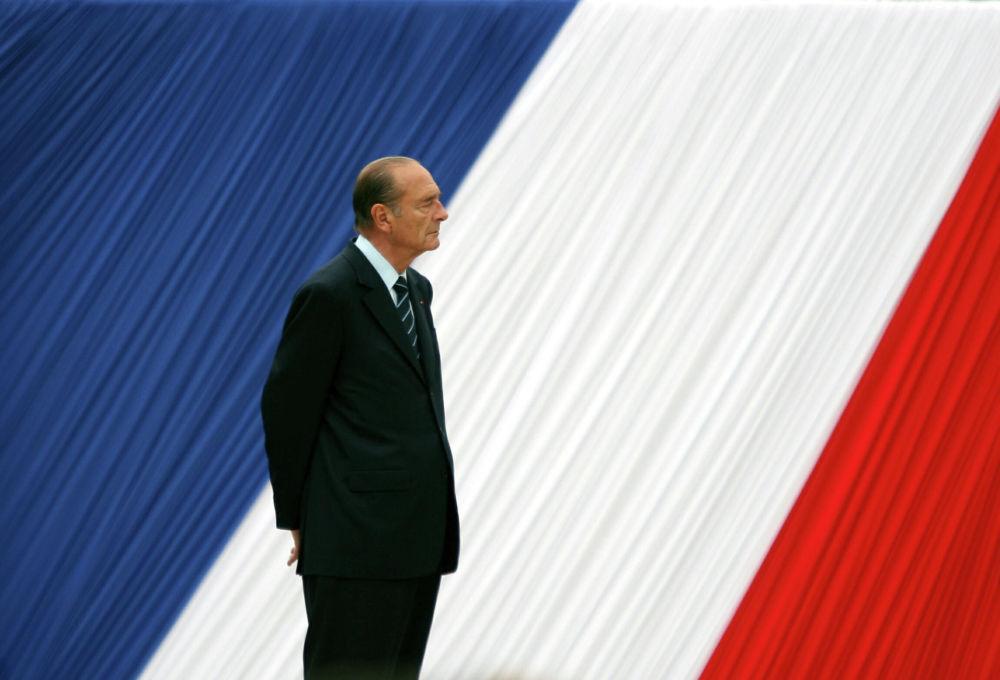 Il presidente della Francia Jacques Chirac nel 2006.