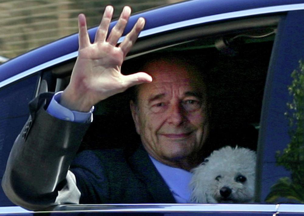 Il presidente della Francia Jacques Chirac il 2 agosto 2006.