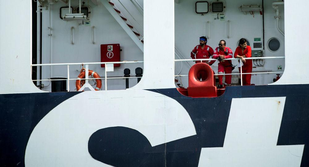 Stena Impero, equipaggio