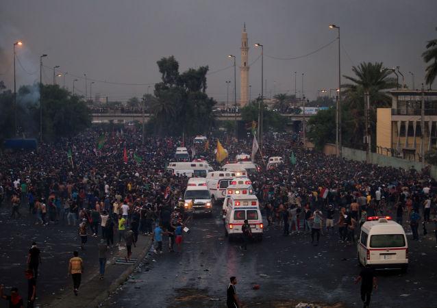 Manifestazioni Iraq