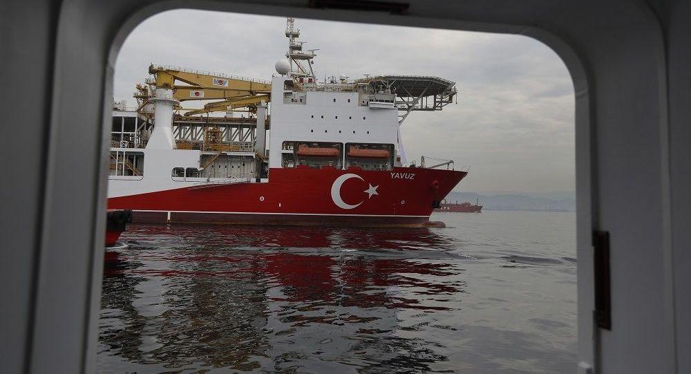 Una nave da perforazione Yavuz
