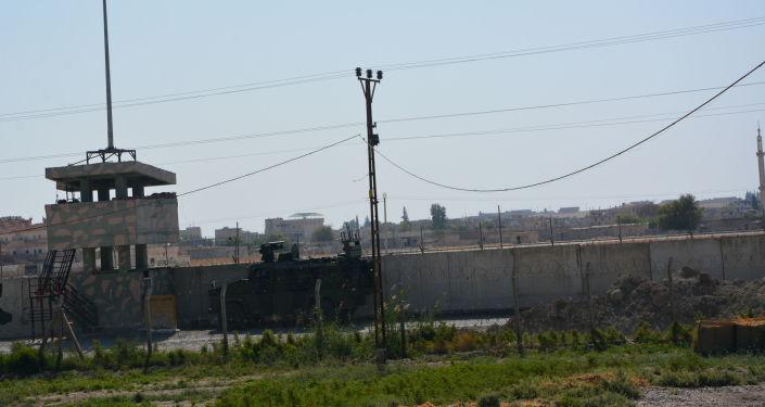 Il confine con la Siria