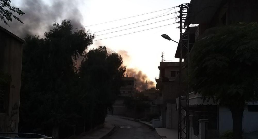 Le conseguenze del raid aereo turco a Ras Al-Ayn