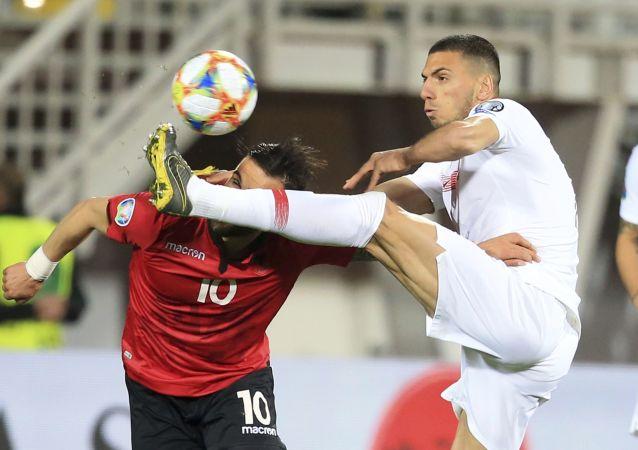 Il calciatore turco Merih Demiral