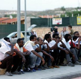 Migranti dall'Eritrea a Lampedusa