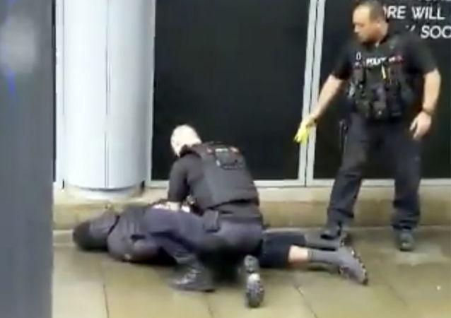 Uomo arrestato a Manchester