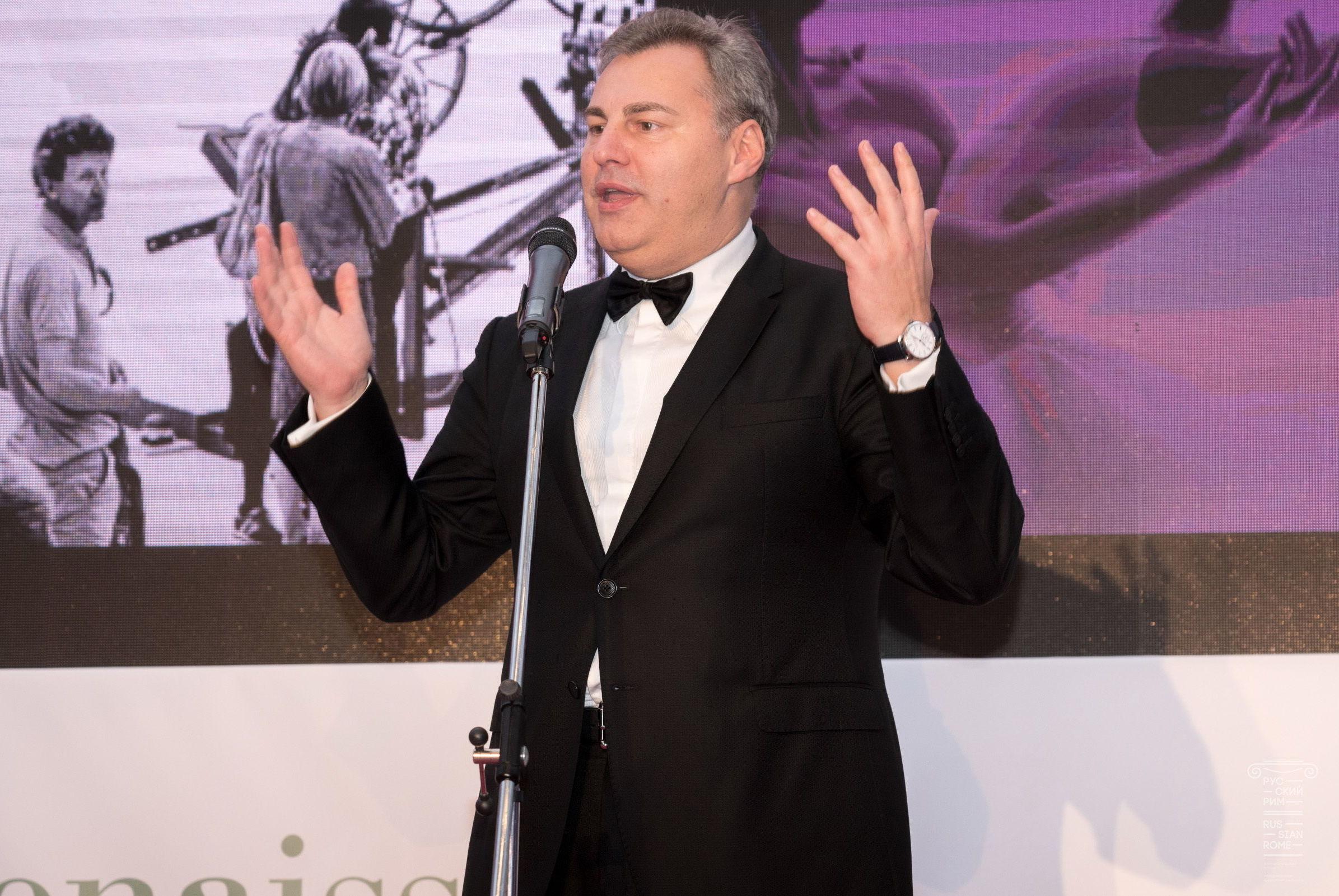 Il Presidente del Festival Vladimir Torin