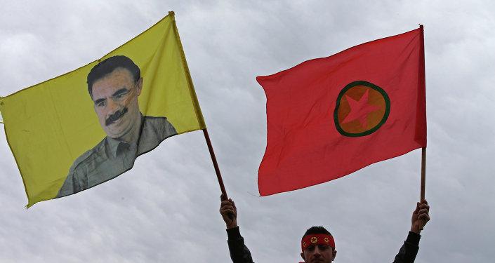 Sostenitore curdo del PKK