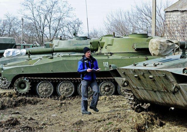 Missione OSCE nel Donbass (foto d'archivio)