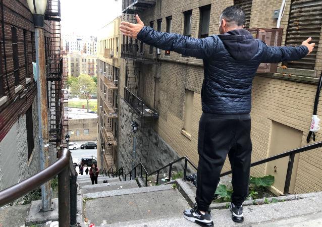 Le scale di Joker a New York