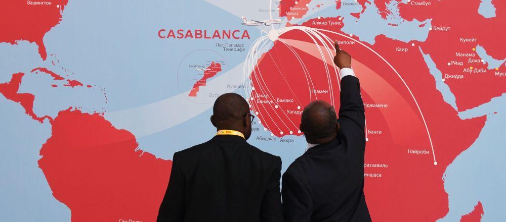 Partecipanti al Forum economico Russia-Africa 2019 a Sochi