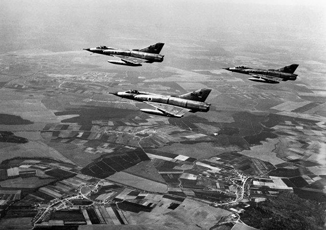 I caccia dell'aviazione israeliana Dassault Mirage III, 1967