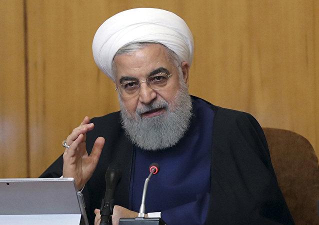 Presidente iraniano Hassan Rouhani