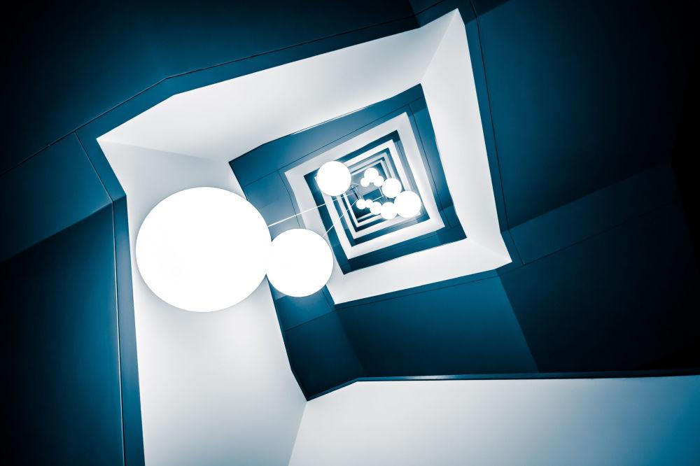 La foto 'Deep Blue' presentata dal fotografo tedesco Frank Seltmann al concorso delle migliori foto del mondo #Blue2019
