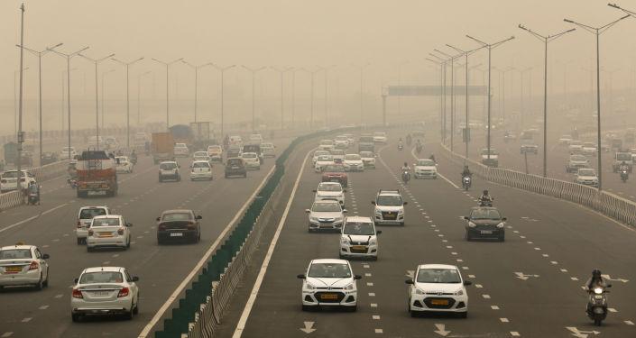 Inquinamento a Delhi
