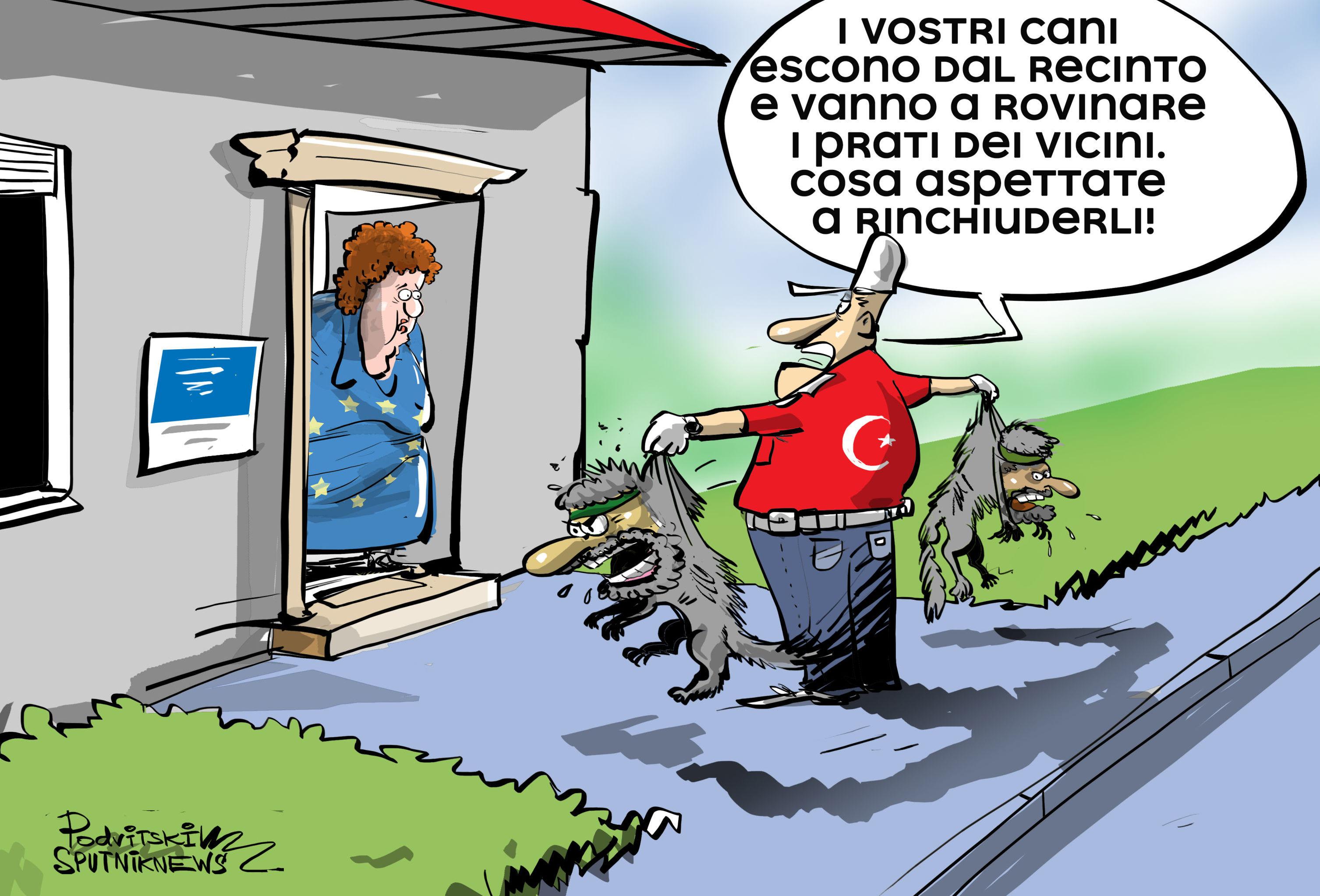 Il ministro degli interni turco Suleiman Soilu ha accusato i Paesi europei di aver tentato di costringere Ankara a trattare da sola i terroristi catturati