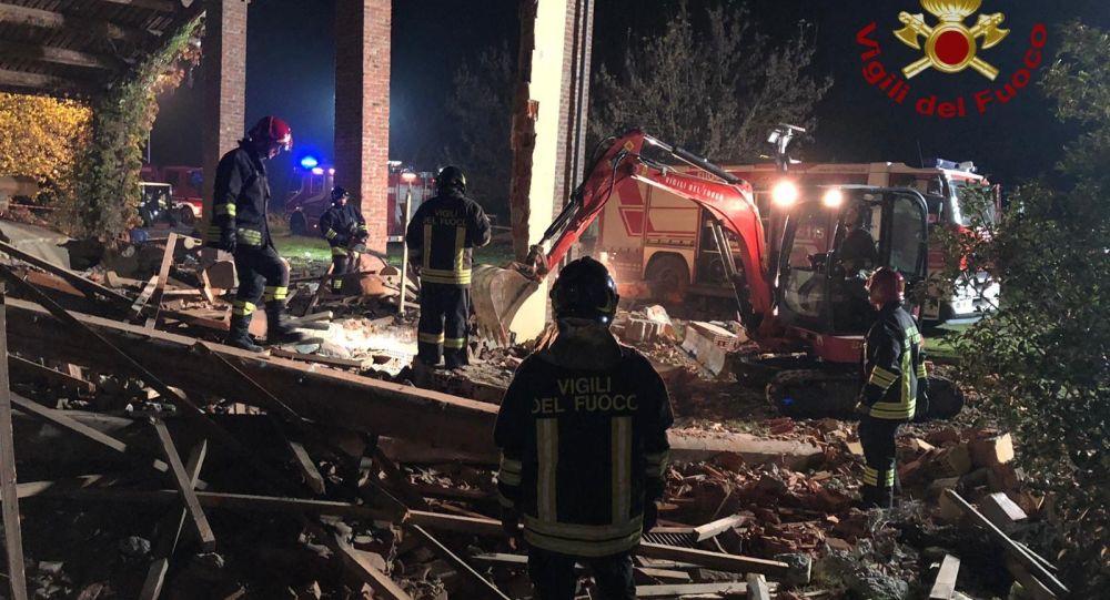 Esplosione a Quargnento, Alessandria