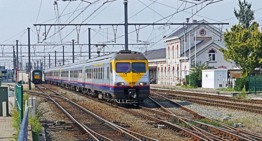 Treno regionale in Belgio