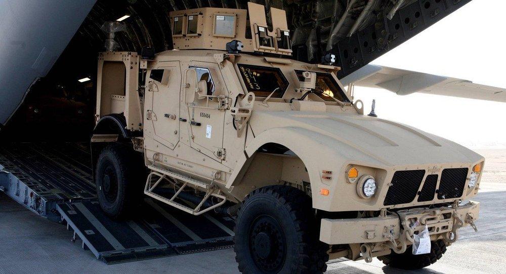 Il veicolo blindato MRAP