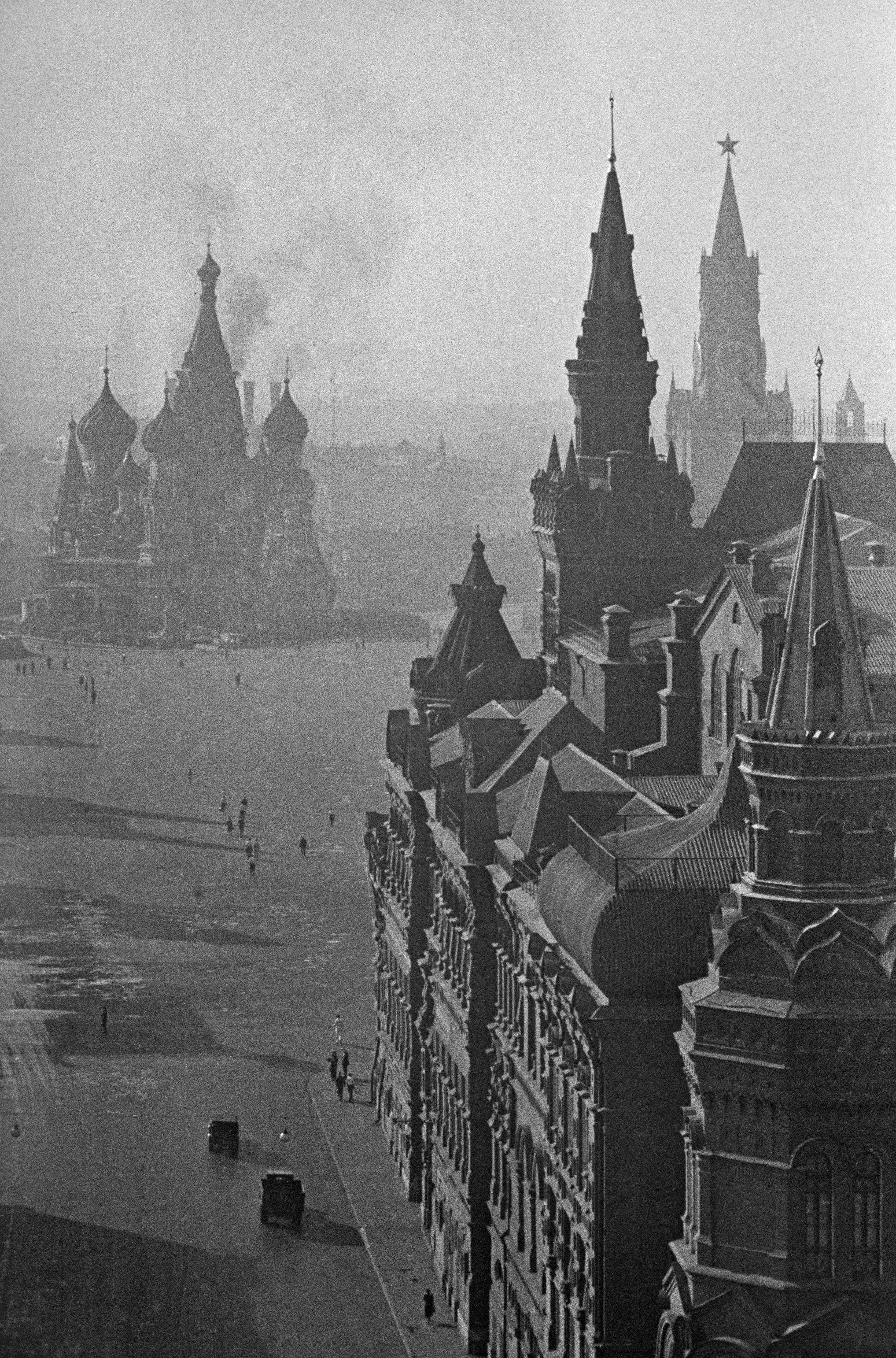 La Piazza Rossa nel giugno 1941