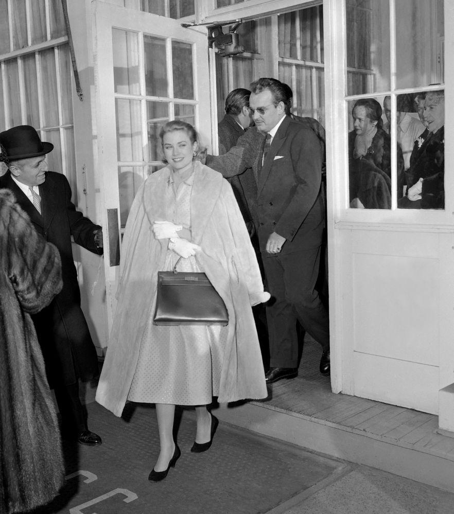 Il Principe Ranieri III con la moglie, la Principessa Grace di Monaco, 1956