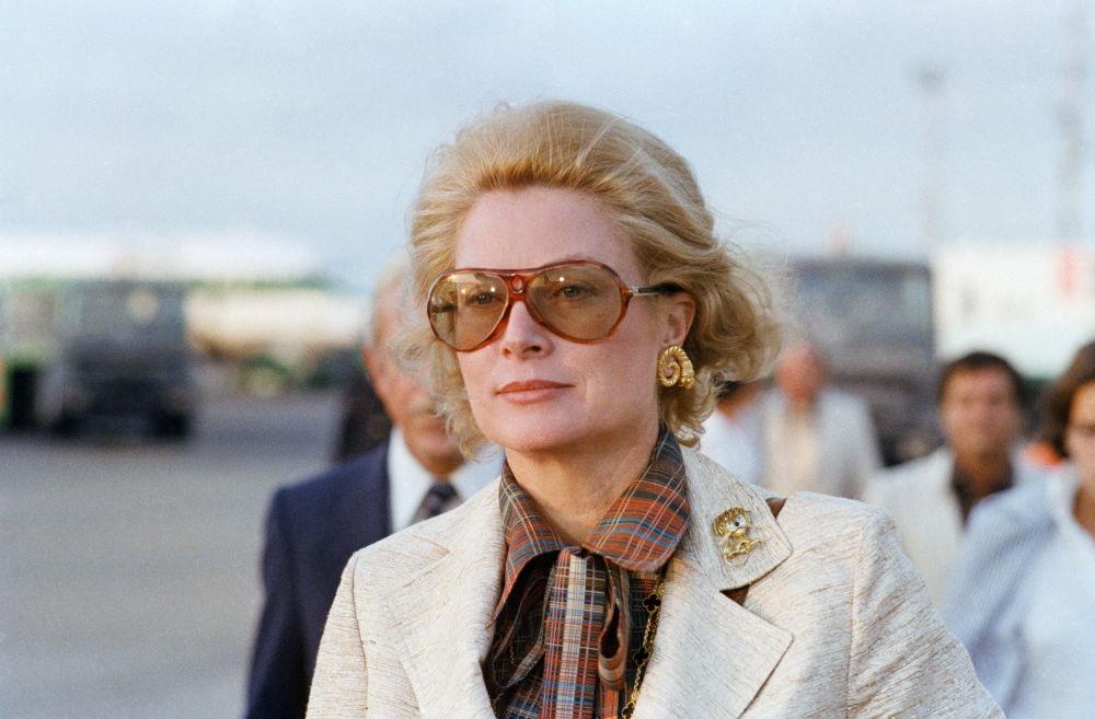 La Principessa Grace di Monaco a Roma, 1978