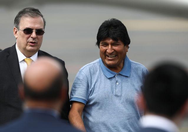 Evo Morales arrivato nel Messico