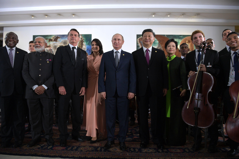 I leader dei Paesi Brics al vertice in Brasile