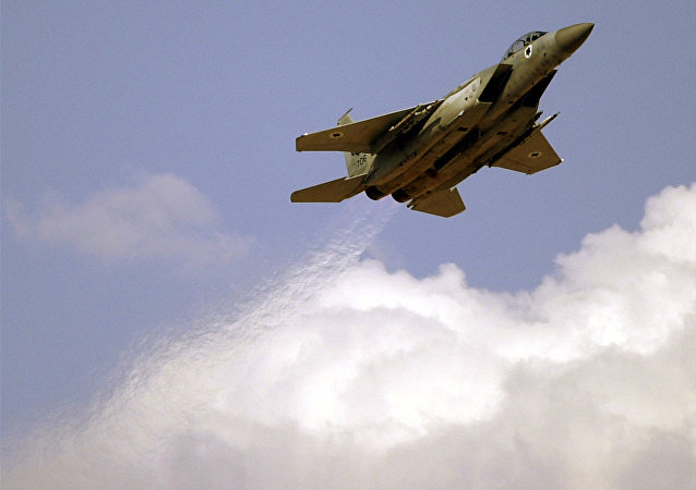 Un F-15 israeliano