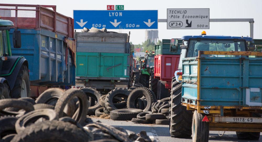 Proteste degli agricoltori in Francia (foto d'archivio)