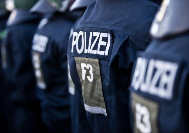 Polizia tedesca (foto d'archivio)